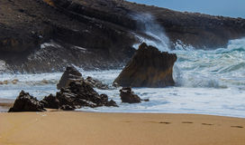 Beach Cresmina Stock Photography