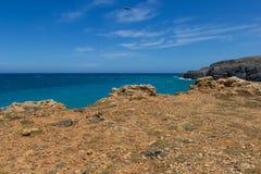 The beach on Crete Greece Royalty Free Stock Photos