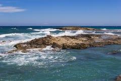 The beach on Crete Greece Royalty Free Stock Image