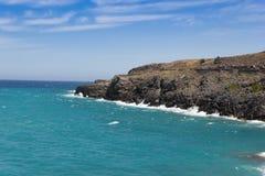 The beach on Crete Greece Stock Photos