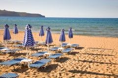 Beach, Crete, Greece Stock Photography