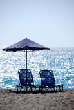 Beach. On Crete island, Greece Royalty Free Stock Photos