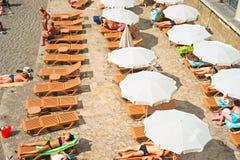 Beach of Crimea Royalty Free Stock Photo