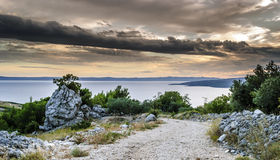Beach Croatia Royalty Free Stock Photo