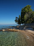 Beach in croatia Royalty Free Stock Images