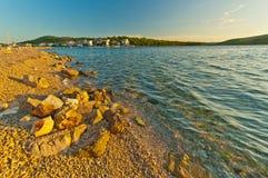 Beach in Croatia Royalty Free Stock Photo