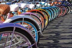 Beach cruisers Royalty Free Stock Images