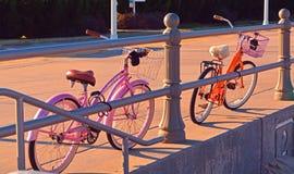 Beach Cruisers Stock Photography