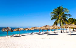 The beach of Cuba Royalty Free Stock Photography