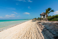 Beach Cuba Royalty Free Stock Images