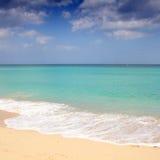 Beach in Cuba Stock Photography