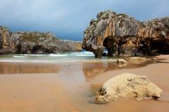 Beach of Cuevas del Mar Royalty Free Stock Photo