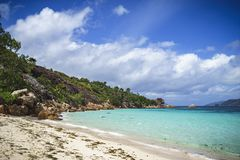 Curieuse island on the seychelles 2 royalty free stock photo