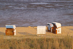 Beach of Cuxhaven Stock Photos