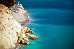 Beach on Cyprus island Stock Photos