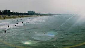 Beach& x27; día de s Fotos de archivo libres de regalías