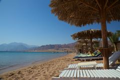 Beach in Dahab Stock Photos