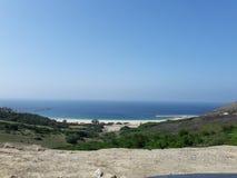 Beach dalia. Near ceuta beach Mediterranean Sea Royalty Free Stock Image