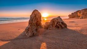 Beach, Dawn, Landscape Royalty Free Stock Photo