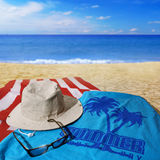 Beach day Royalty Free Stock Photography