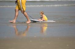 Beach day Stock Photography