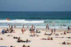 Beach Day at Bondi stock photos
