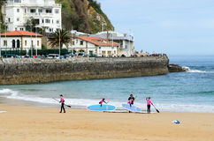 A beach day Royalty Free Stock Photos
