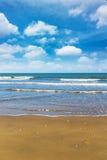 Beach on daylight summer season Stock Photos