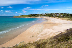 Beach at Daymer Bay Cornwall Royalty Free Stock Photos