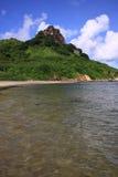 beach de福纳多noronha sw 库存图片