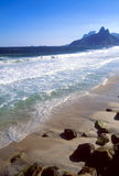 beach de ipanema janeiro里约 免版税图库摄影