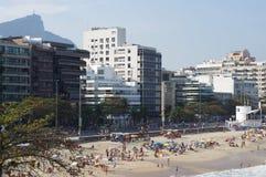 beach de ipanema janeiro里约 库存照片