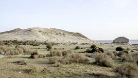 Beach de monsul, cabo de gata, andalusia, spain, europe, view Stock Image
