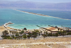 Beach on the Dead Sea, Israel Stock Photos