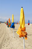 Beach Deauville Stock Photography