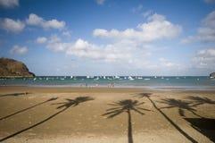beach del胡安・尼加拉瓜圣sur 库存图片