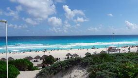 Beach del Carmen Royalty-vrije Stock Foto's
