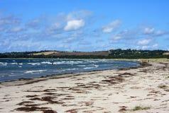 Beach in Denmark Stock Photo
