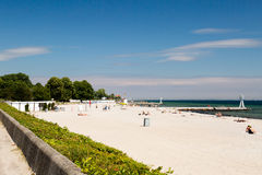 Beach in Denmark Royalty Free Stock Photo