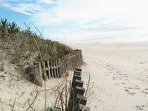 Beach. Desert beach day Stock Photo