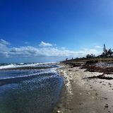 beach deserted Στοκ Εικόνες