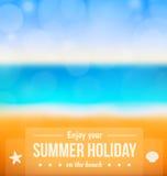 Beach design Stock Image
