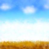 Beach design summer blur background Stock Photo