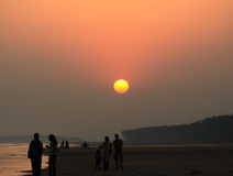Beach at Digha Stock Image