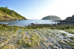 Beach. Discover small beach in Phuket Thailand Royalty Free Stock Photo