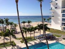 Beach in Don Juan. Beach in a hotel in Don Juan, Dominican Republic Stock Photo