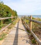 beach dostępu Obrazy Royalty Free
