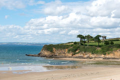 Beach of Douarnenez (France) Royalty Free Stock Photos