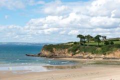 Beach of Douarnenez (France) Royalty Free Stock Photos