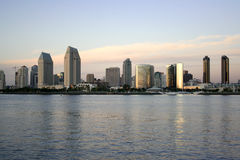 Beach in Downtown San Diego,Ca Royalty Free Stock Photo